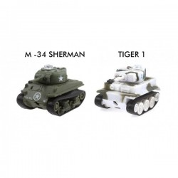 Micro Tanks Game (Sherman M-34 y Tiger I)