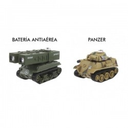 Micro Tanks Game (Antiaéreo y Panzer)